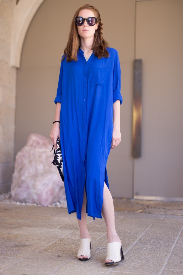 Blue shirt dress_00017